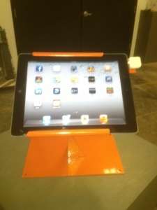 Flipstand with iPad & Square