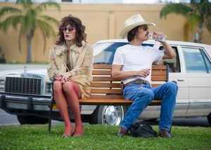 McConaughey, Jared Leto playing his transvestite friend