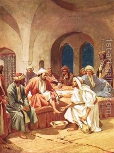 William Brassy Hole, Jesus Washing the Disciples' Feet