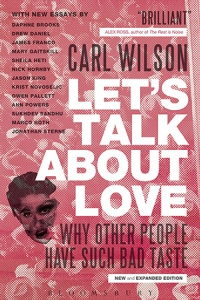 "Carl Wilson, ""Let's Talk About Love"""