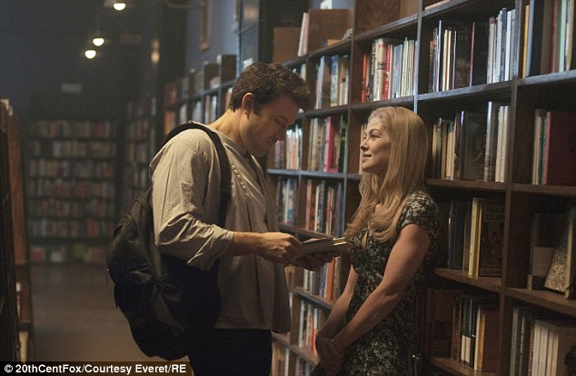 Rosamund Pike & Ben Affleck